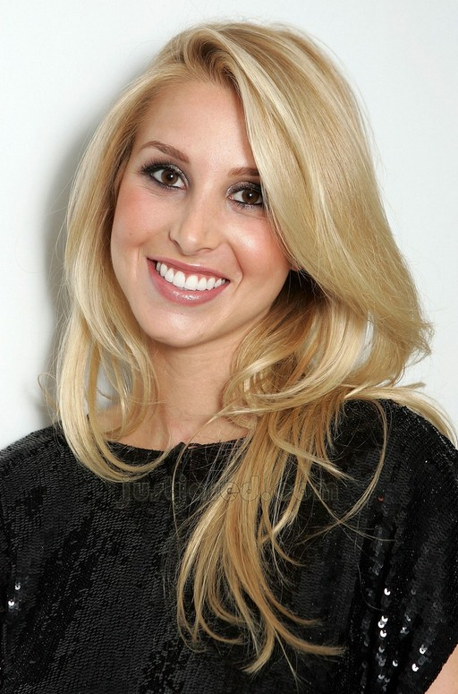 Whitney Port Long Hairstyles