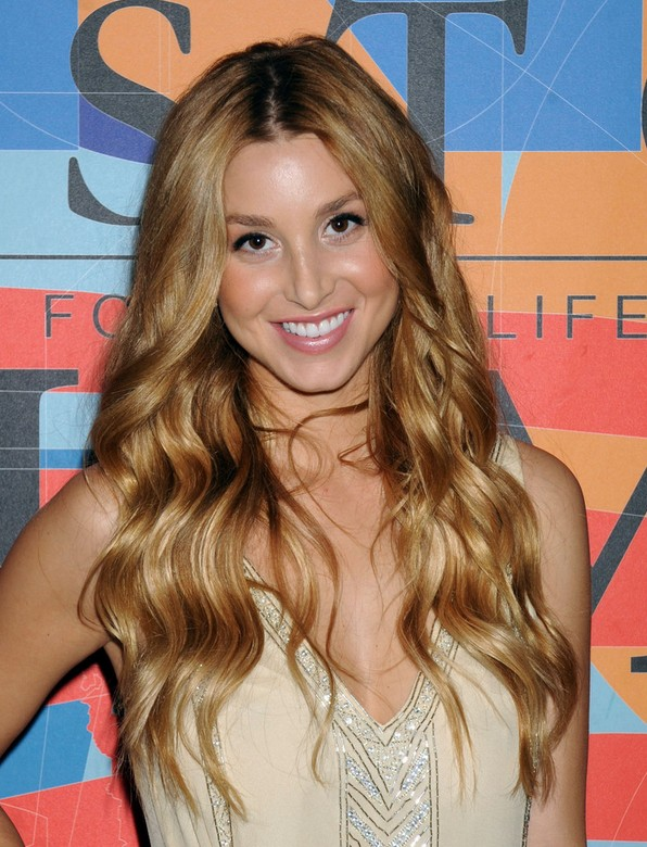 Whitney Port Wavy Hairstyles