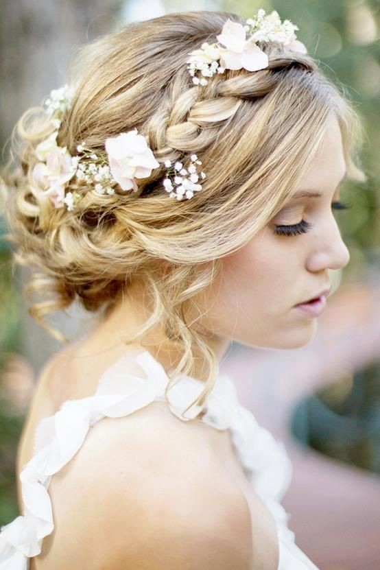 vintage Chic Bridal Flower Weave is Ideal for A Bride Opting for A Simple and Effortless Style