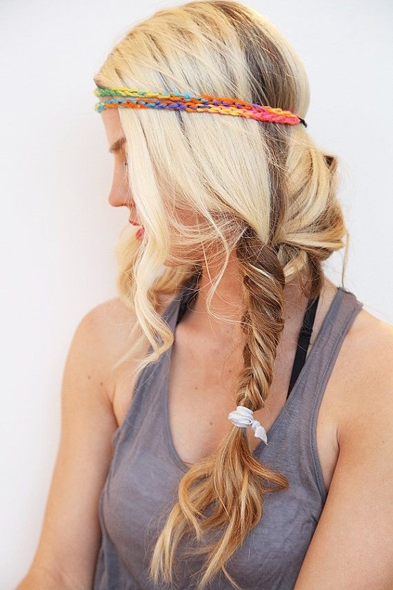 Boho Hairstyle Idea for Long Hair