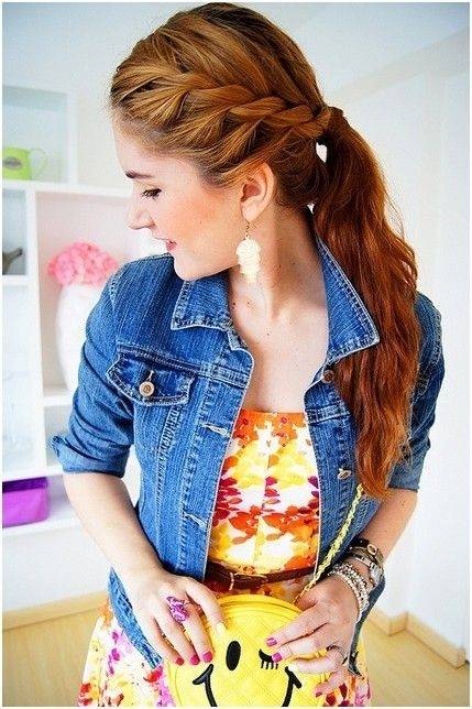 Braids Ponytail Hairstyles