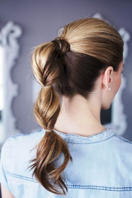 Cute Ponytail: Great for Work or School