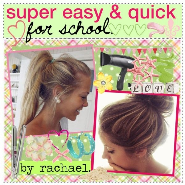 Easy & Quick Hairstyles for School