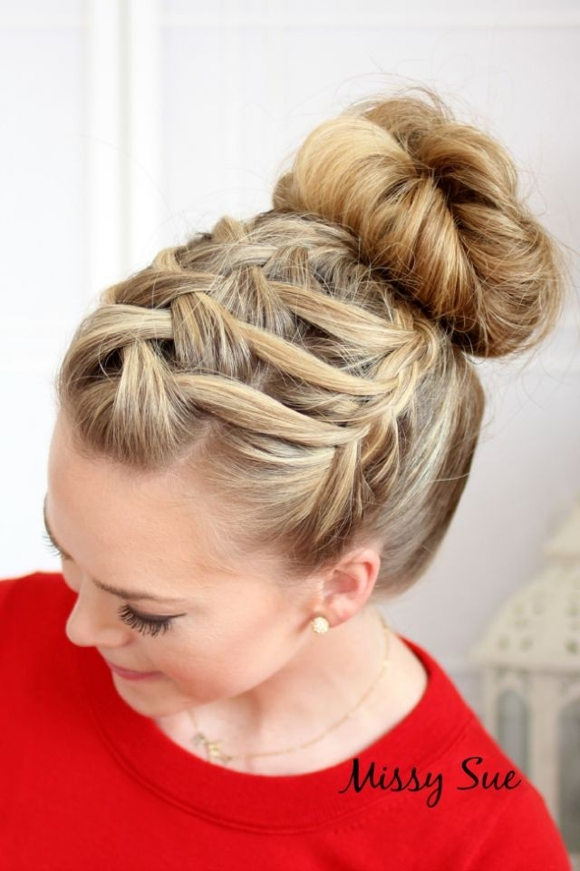 Fancy Hairstyles: Braided Updos Ideas