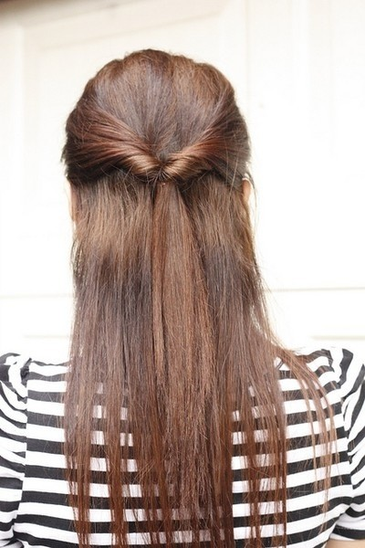 Simple Hairstyle for School or the Holidays