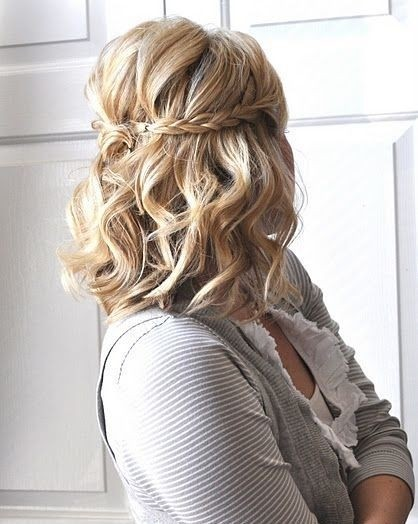 So Simple Medium Length Boho Hairstyle