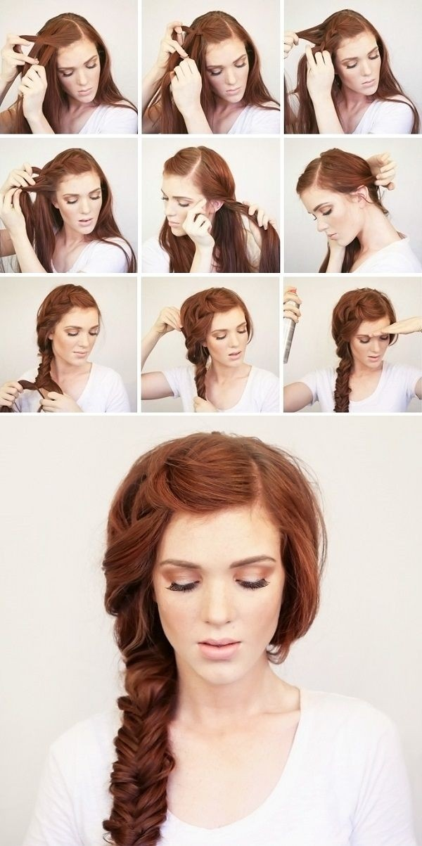 hair styling tutorials hair 16 side braid hairstyles pretty hair ideas styles 5574