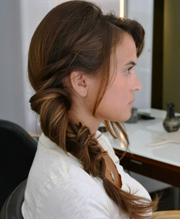 Amazing 16 Side Braid Hairstyles Pretty Long Hair Ideas Styles Weekly Hairstyle Inspiration Daily Dogsangcom