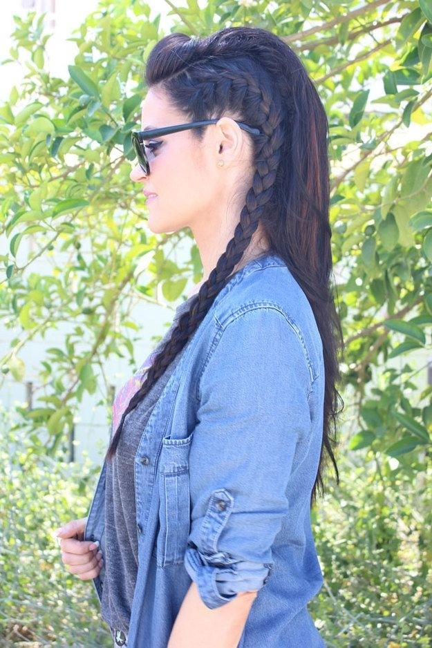 Cute, Easy Side Braid Hairstyles