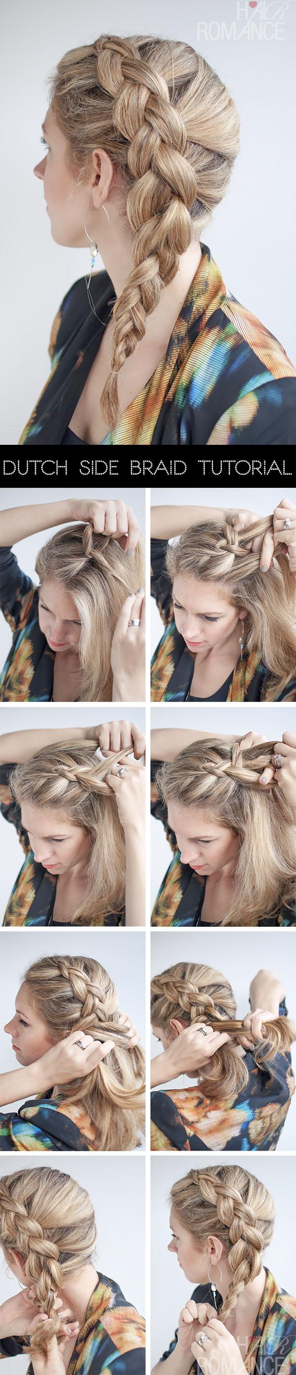Easy Side Braid Hairstyles 60