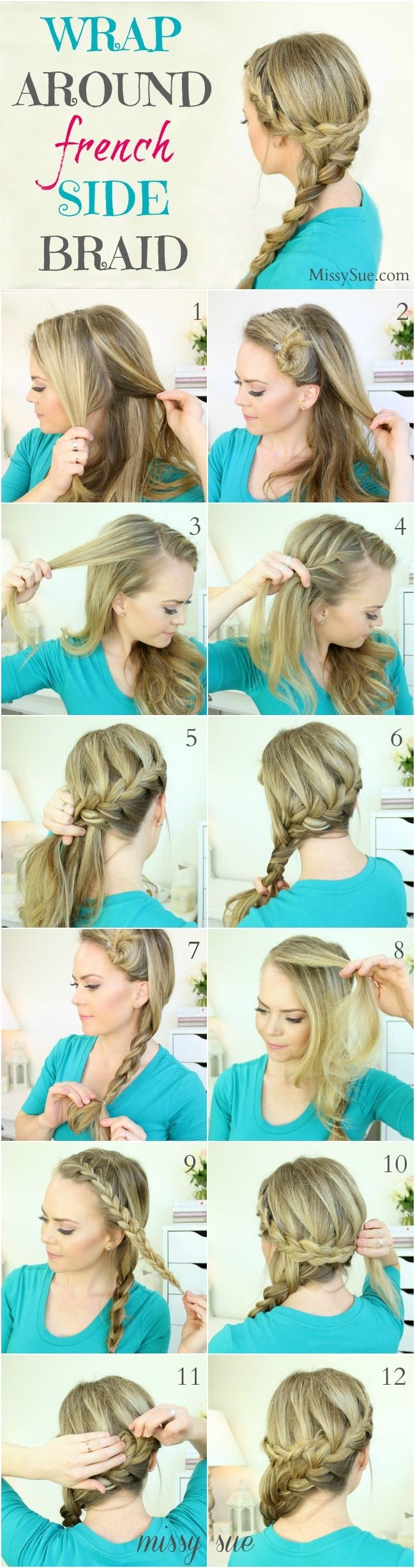 Swell 16 Side Braid Hairstyles Pretty Long Hair Ideas Styles Weekly Short Hairstyles For Black Women Fulllsitofus