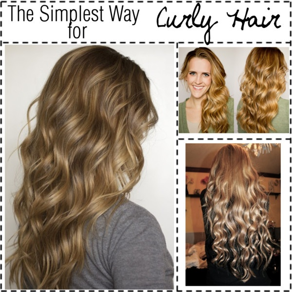 How To Style Curly Hair Without Heat Simple Diy No Heat Curls 15 Tutorials For Curl Hair Without Heat .