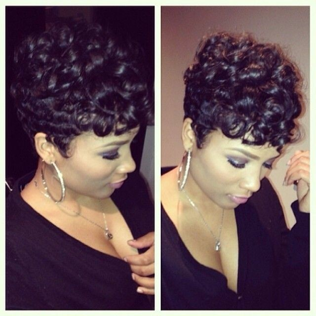 Cool Bouncy Curls 23 Pretty Hairstyles For Black Women 2015 Welcome Short Hairstyles Gunalazisus