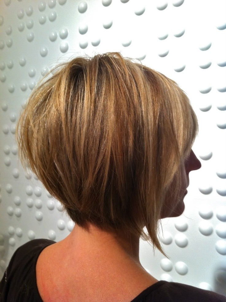 30 super hot stacked bob haircuts short hairstyles for for Cut and color ideas