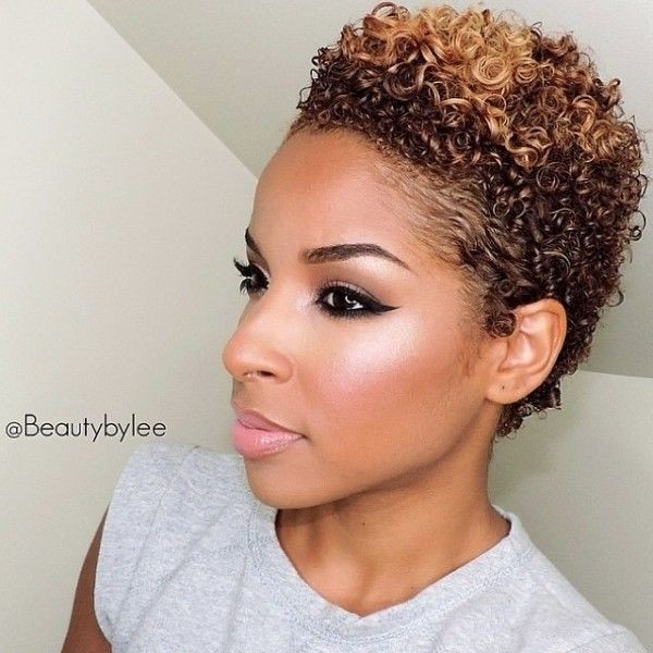 Awesome Short curls for Women - TWA Hairstyles