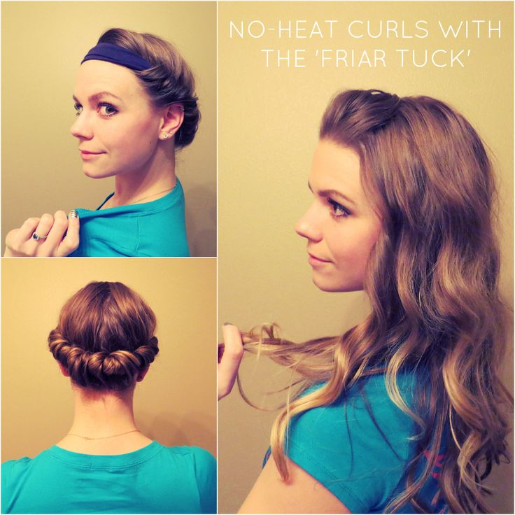 how to style thin hair without heat diy no heat curls 15 tutorials for curl hair without heat 3113