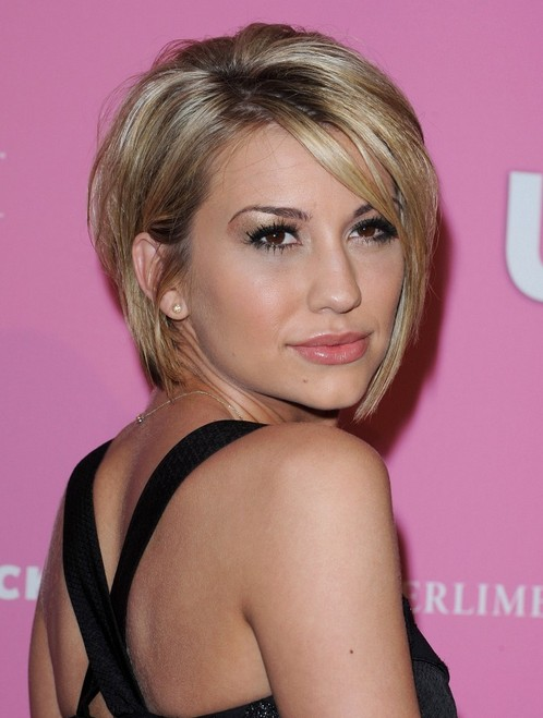 Chelsea Kane Graduated Bob - Trendy Short Hairstyle for Women