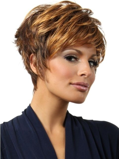 Chic Layered Hairstyle for Short Hair Funky Short Formal Hairstyles