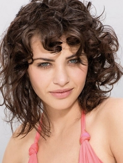 Curly Shaggy Hairstyles