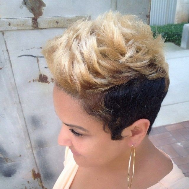 Astonishing 16 Stylish Short Haircuts For African American Women Styles Weekly Hairstyles For Women Draintrainus