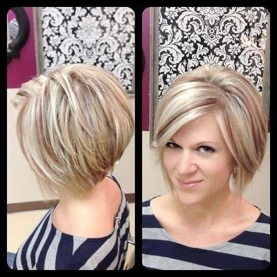 Cute Short Bob Hair Cuts for Women: Heart Face Shape Hairstyles