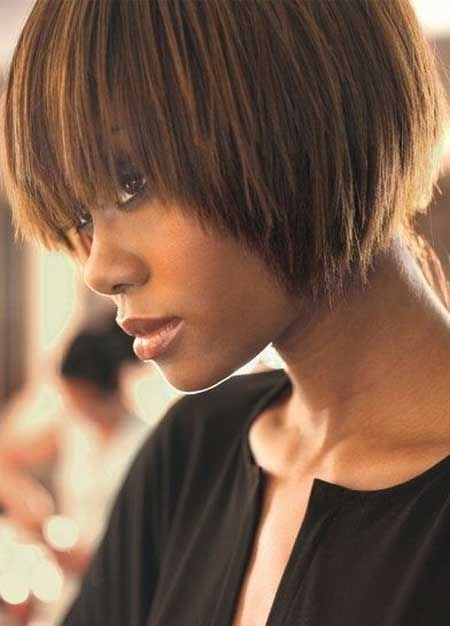 Fantastic Groovy Short Bob Hairstyles For Black Women Styles Weekly Hairstyle Inspiration Daily Dogsangcom