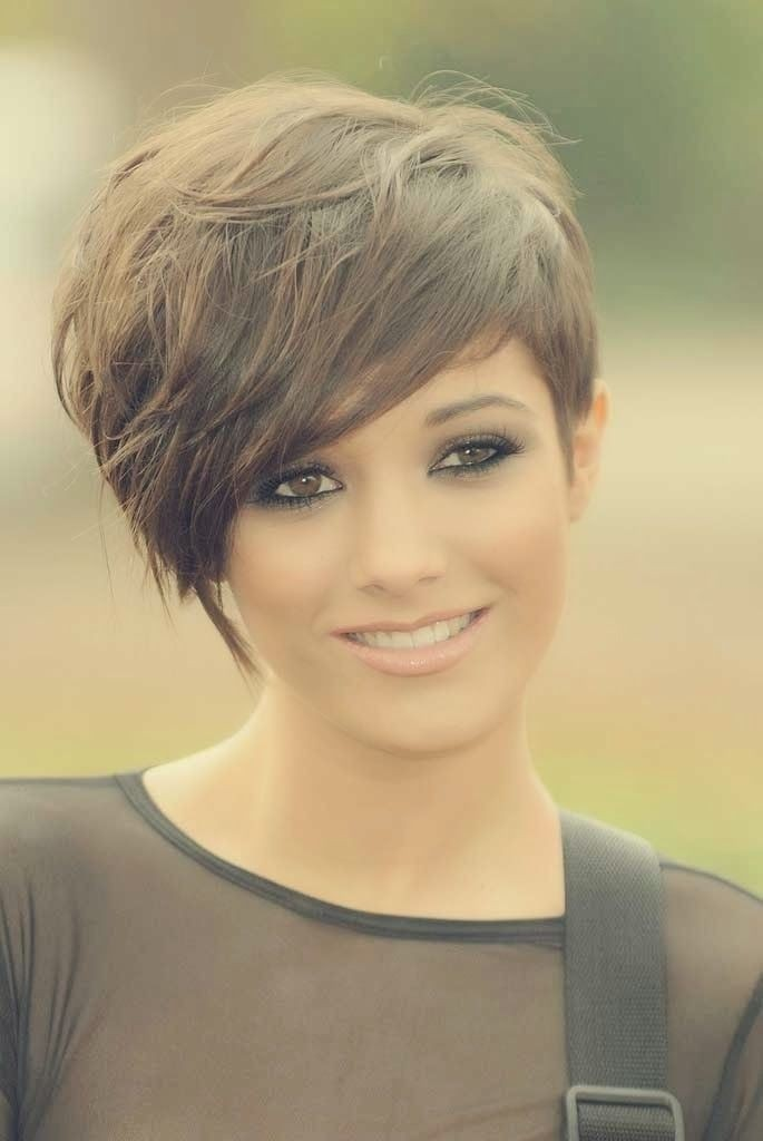 Surprising 12 Hot Short Hairstyles With Bangs Styles Weekly Short Hairstyles Gunalazisus