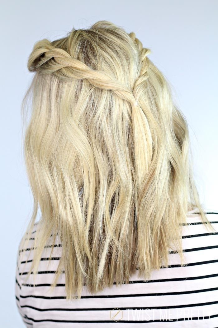 Fantastic Easy Cute Braids For Medium Hair Braids Hairstyle Inspiration Daily Dogsangcom