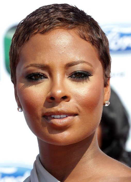 Eva Pigford Very Short Boycut for Black Women with Very Short Hair