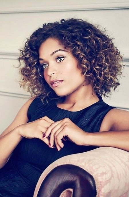 Everyday Hairstyles for Short Curly Hair - Short Hairstyles for Black Women