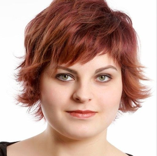 Astounding 10 Trendy Short Hairstyles For Women With Round Faces Styles Weekly Short Hairstyles Gunalazisus