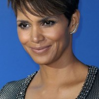 Halle Berry Short Hair Style - 2015 Chic Short Haircuts for African American Women
