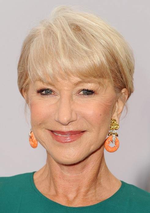 Helen Mirren Short Haircut for 2014 - Hairstyle for Women Over 60