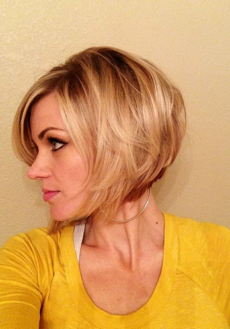 Inverted Bob Hairstyles - Superb Short Shag Haircuts