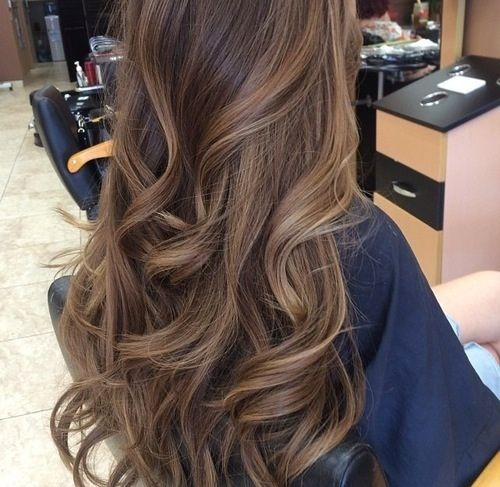 ... ombre hair /tumblr Dark red rich hair color with caramel highlights