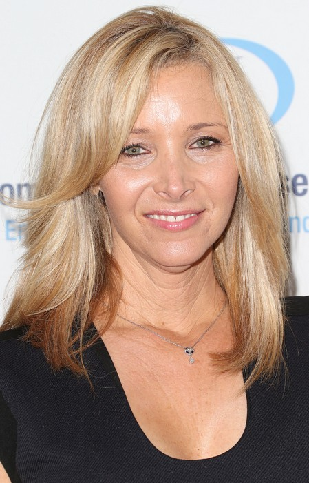 Lisa Kudrow Long Hairstyle for Women Over 50