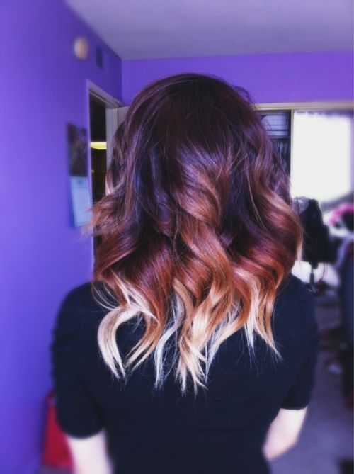 Ombre hair for medium length hair