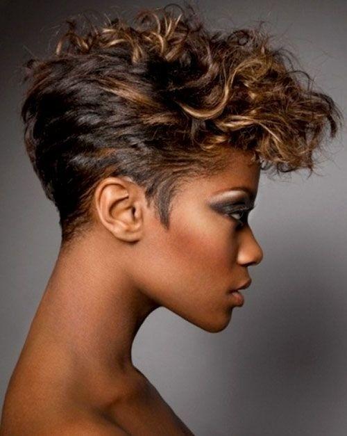 Prime 12 Pretty Short Curly Hairstyles For Black Women Styles Weekly Short Hairstyles Gunalazisus