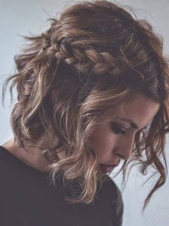 Cool 12 Feminine Short Hairstyles For Wavy Hair Easy Everyday Hair Short Hairstyles Gunalazisus