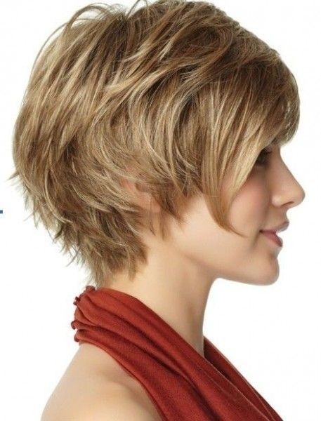 Messy, Layered Hairstyle for Short Hair - Funky Short Formal Haircuts