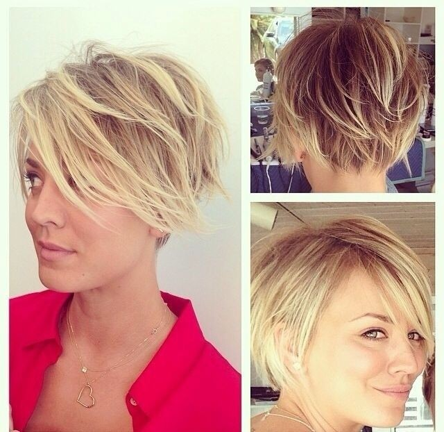 Messy, Layered Short Hair