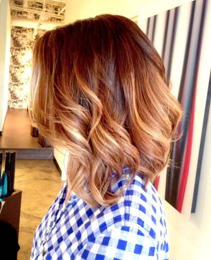 Short Brown Ombre Hair Tumblr
