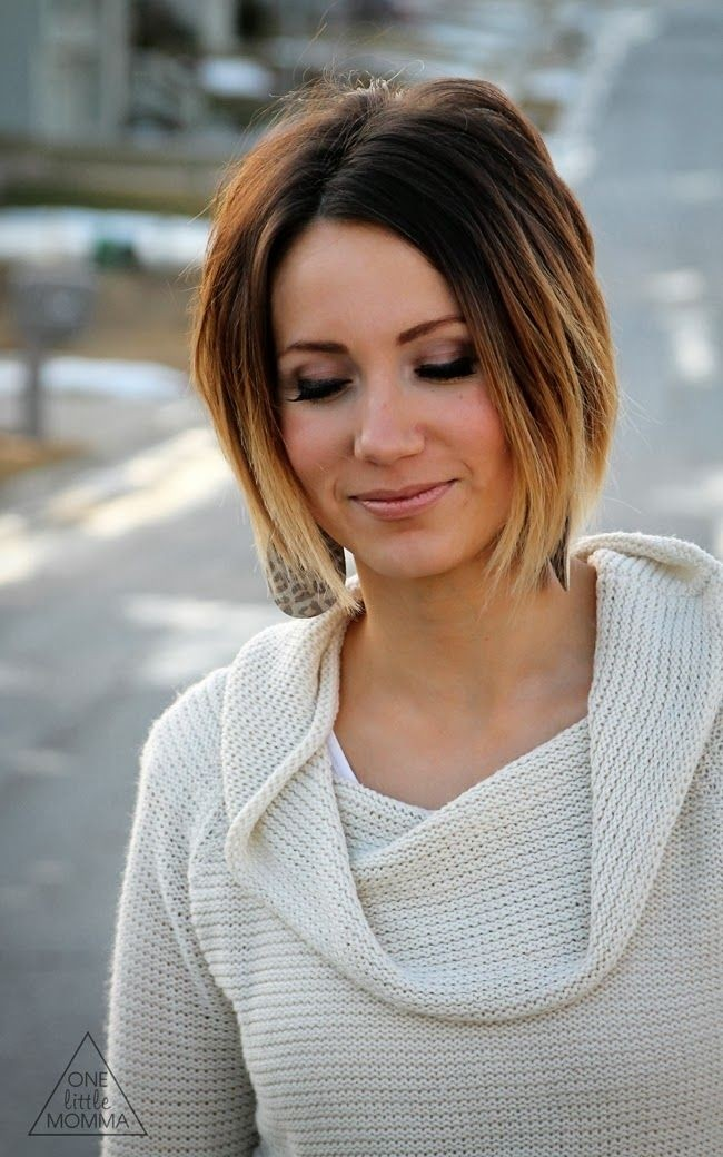 Ombre Hairstyles for Short Hair