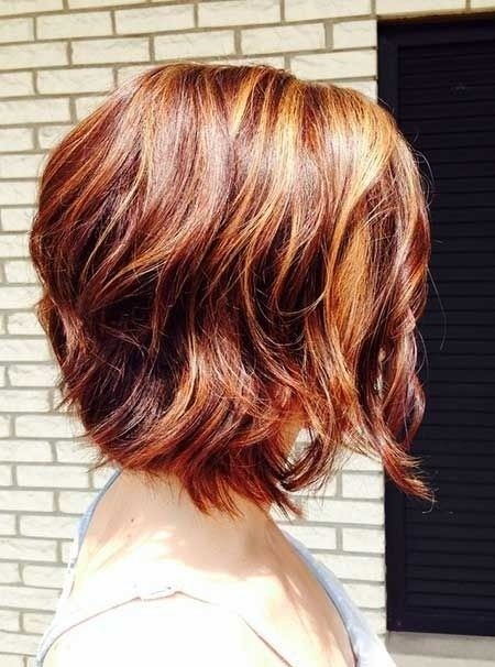 Ombre Hairstyles for Short Wavy Hair