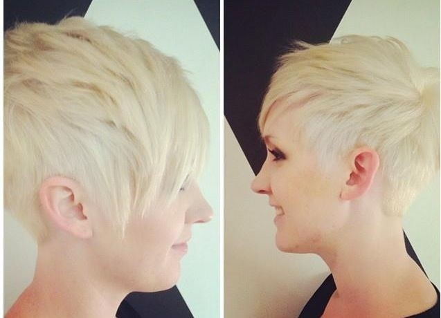 Perfect Asymmetric Pixie Cut