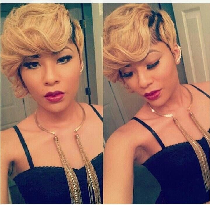 Stupendous 16 Stylish Short Haircuts For African American Women Styles Weekly Hairstyles For Women Draintrainus