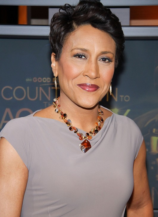 Robin Roberts Short Haircut for Women Over 50