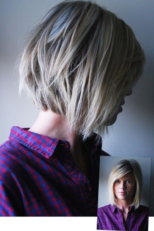 Short Bob Haircuts for Summer - Short Layered Hairstyles