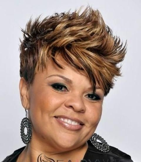 Tremendous 16 Stylish Short Haircuts For African American Women Styles Weekly Hairstyles For Men Maxibearus