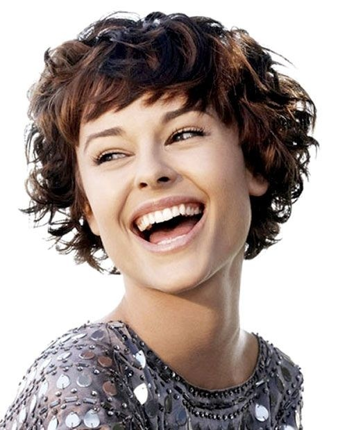 Short Hairstyle for Thick Hair - Women Short Haircuts for Curly Hair